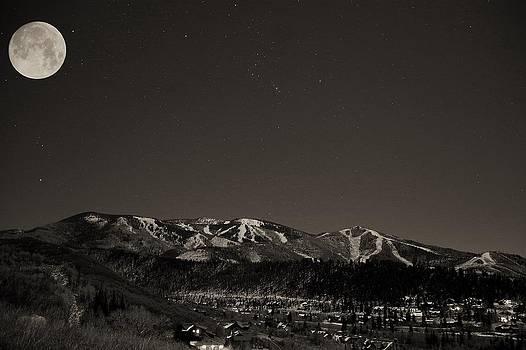 Moon Over Mt. Werner by Matt Helm