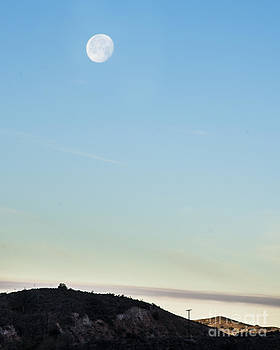 Moon over the Hill by Timothy OLeary
