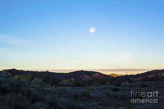 Moon over the Hills by Timothy OLeary