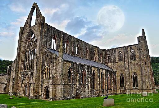 Moon Over Tintern Abbey by Skye Ryan-Evans