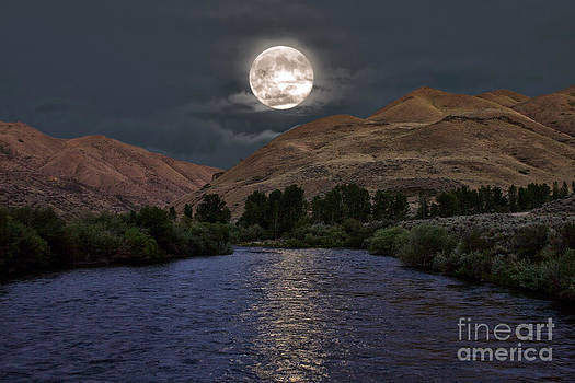 Moon River by Charlene  Aycock