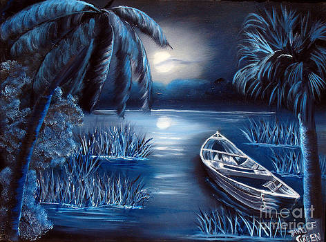 Moon River by Darlene Green