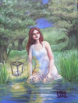 Moonbath by Maria Elena Gonzalez