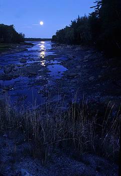 Harold E McCray - Moonlight I - Maine
