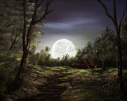 Moonlight  by Jamil Alkhoury