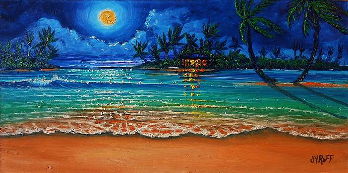 Moonlight Lagoon by Joseph   Ruff