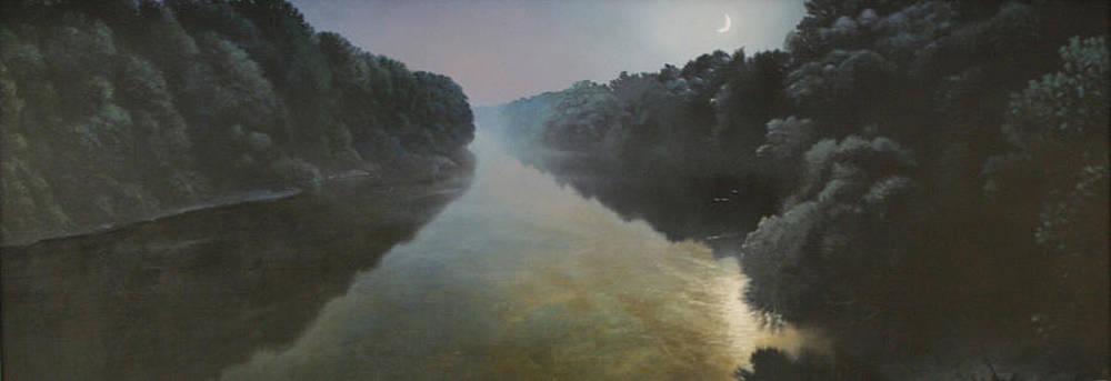 Moonlight on the Great Pee Dee by Blue Sky
