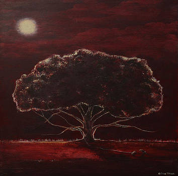 Moonlight Red by Katrina Nixon