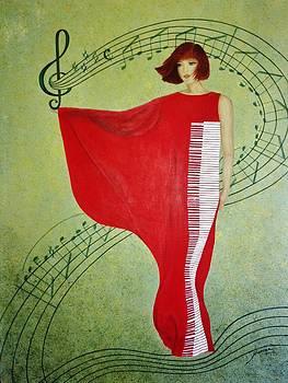 Moonlight Sonata by Marina Hanson