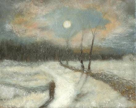 Moonlight Walk Home by Joe Leahy