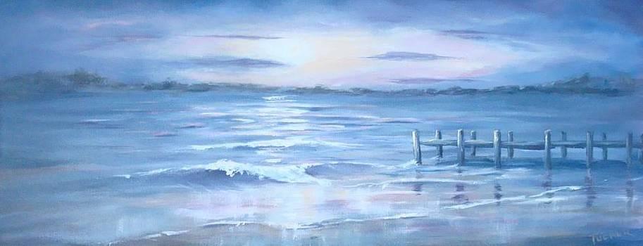 Moonlit Bay by Kathleen Tucker
