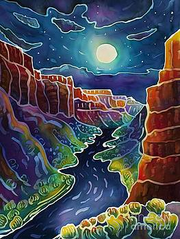 Harriet Peck Taylor - Moonlit Canyon