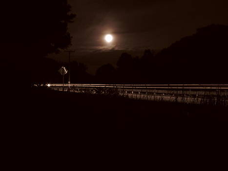 Moonlit Driveby by Shane Brumfield