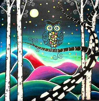 Moonlit View by Shirley Smith