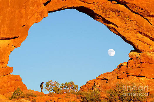 Douglas Taylor - MOONRISE - EAST BY NORTH WINDOW ARCH