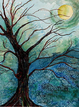 Moonrise In The Wild Night by Brenda Owen