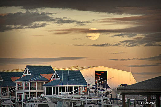 Moonrise over the ICW by Phil Mancuso