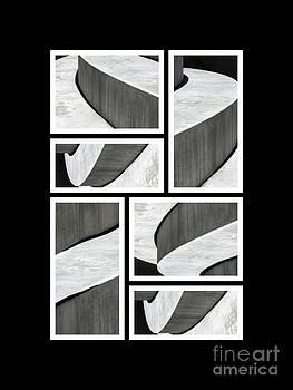 Moonscapes. Abstract Photo Collage 01 by Ausra Huntington nee Paulauskaite