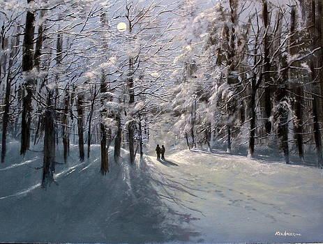 Moonwalk by Ken Ahlering