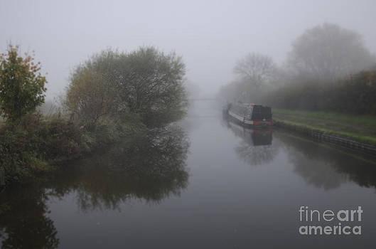 Moored in the mist by Steev Stamford
