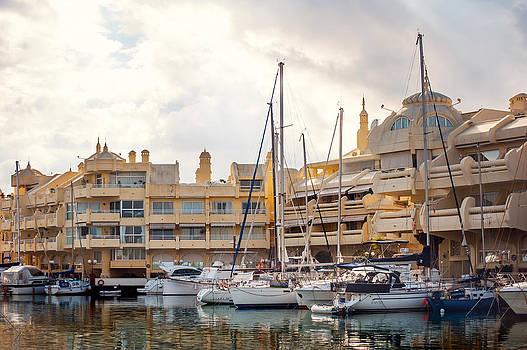 Jenny Rainbow - Moored Yachts III. For Yachts Lovers. Benalmadena Puerto Marina