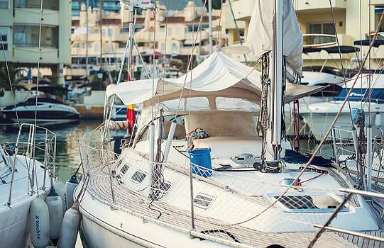 Jenny Rainbow - Moored Yachts IV. For Yachts Lovers. Benalmadena Puerto Marina