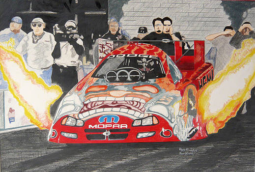 Mopar Funnycar by Ronald Young