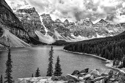 Moraine Lake View by Jeff R Clow