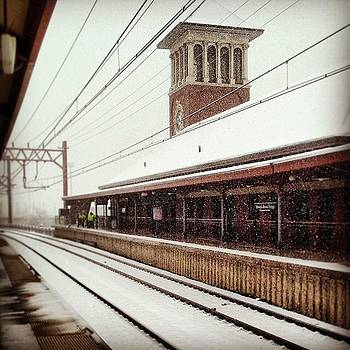 More Snow In Newark.  #new_jersey by Teresa Delcorso