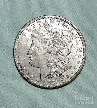 Linda Rae Cuthbertson - Morgan Silver Dollar 1921