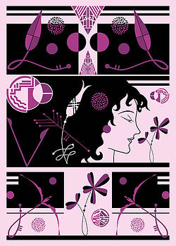 Nancy Lorene - MORIOKA MONTAGE in Pink and Black