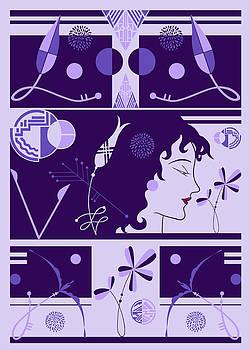Nancy Lorene - MORIOKA MONTAGE Very Periwinkle
