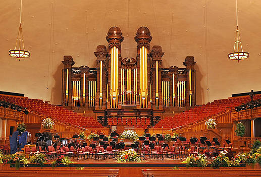 Mormon Tabernacle by Karin Hildebrand Lau