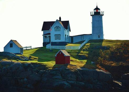 Joy Bradley - Morning At Nubble Lighthouse