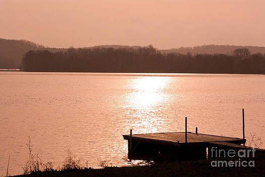 Morning at the Dock by Deb Kline