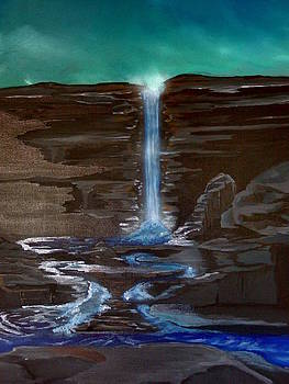Morning At The Falls by Gerard Provost