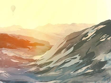Morning balloon ride by Daniel Sallee