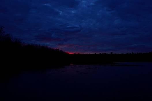 Morning before the sun by Glenn Sanborn