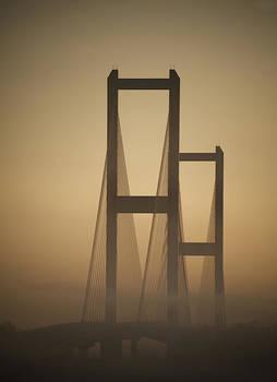 Morning Bridge by John Gusky