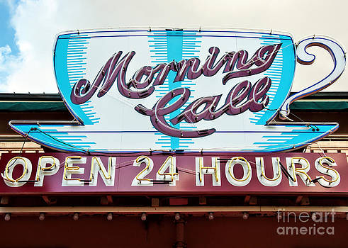 Kathleen K Parker - Morning Call Neon Cup Sign in New Orleans