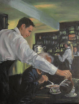 Morning Coffee by Connie Schaertl