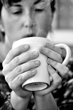 Morning Coffee by Sally Nevin