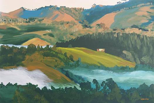 Morning Comes to the Hills by Glenn Harden