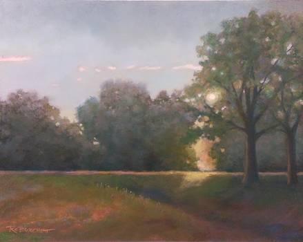 Morning Field by Regina Calton Burchett