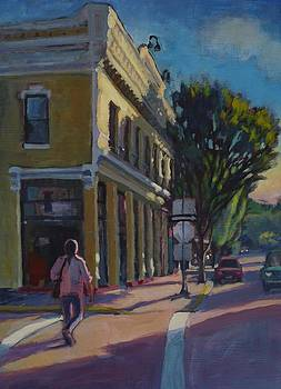 Morning in Silverton by Margaret  Plumb