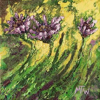 Morning in the Garden by Marlene Tays Wellard