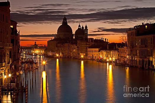 Morning in Venice by Tom Hard