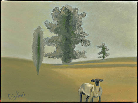 Morning Lamb by Gloria Cigolini-DePietro