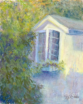 Morning Light on Church Street by Patricia Huff