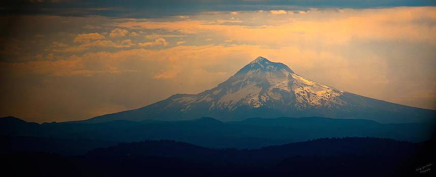 Morning Light on Mt. Hood by Wendy Lynn Conder